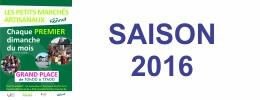 SAISON 2016 - La reprise